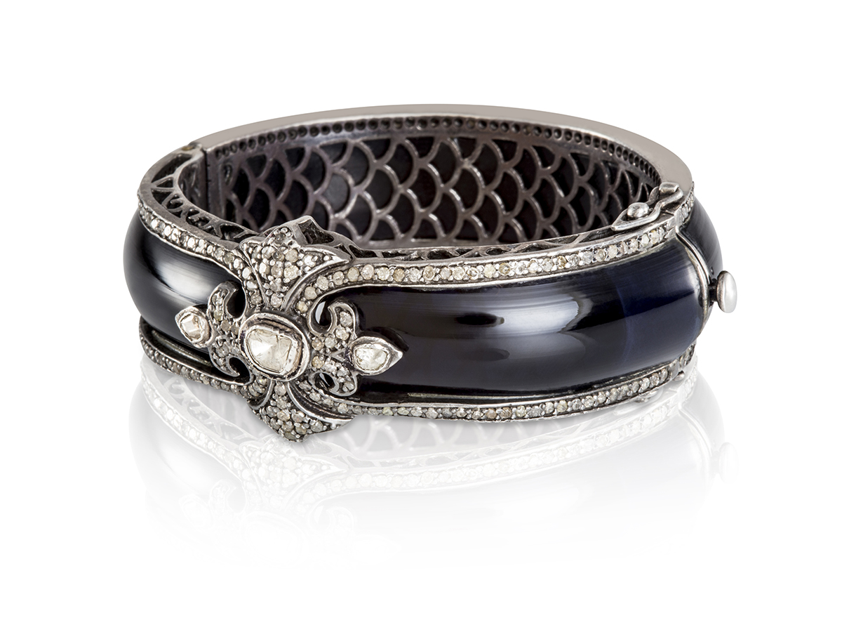 Silver-Bracelet-Bakelite-3
