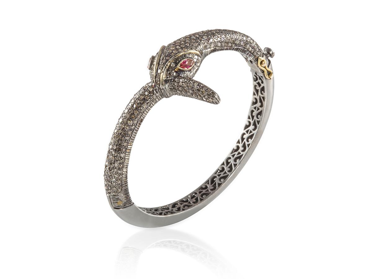 Silver-Snake-Bracelet-1