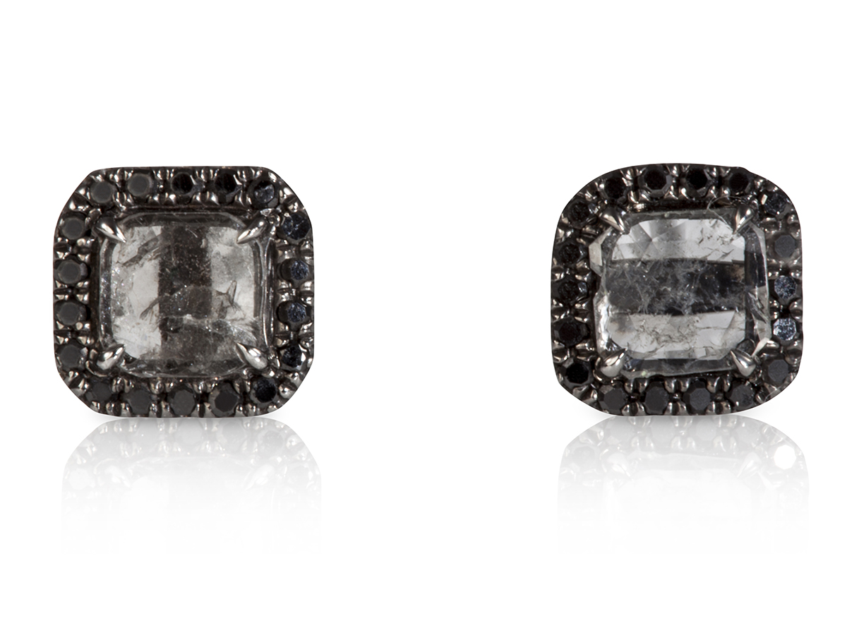 mini-diamond-slice-stud-earrings-black-1
