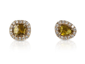 mini-diamond-slice-stud-earrings-yellow-and-white-1